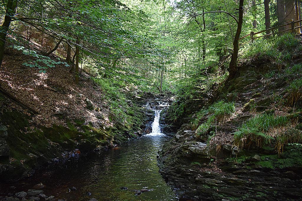 Ardennen cascade waterval