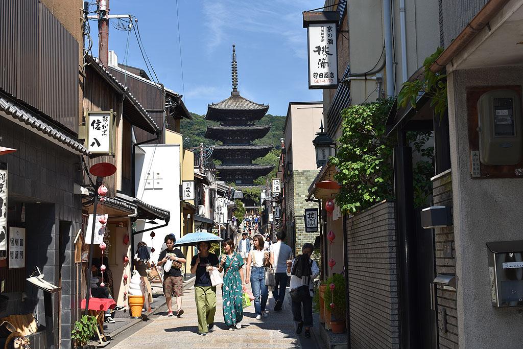 Japan Kioto Kyoto Higashiyama pagode pagoda
