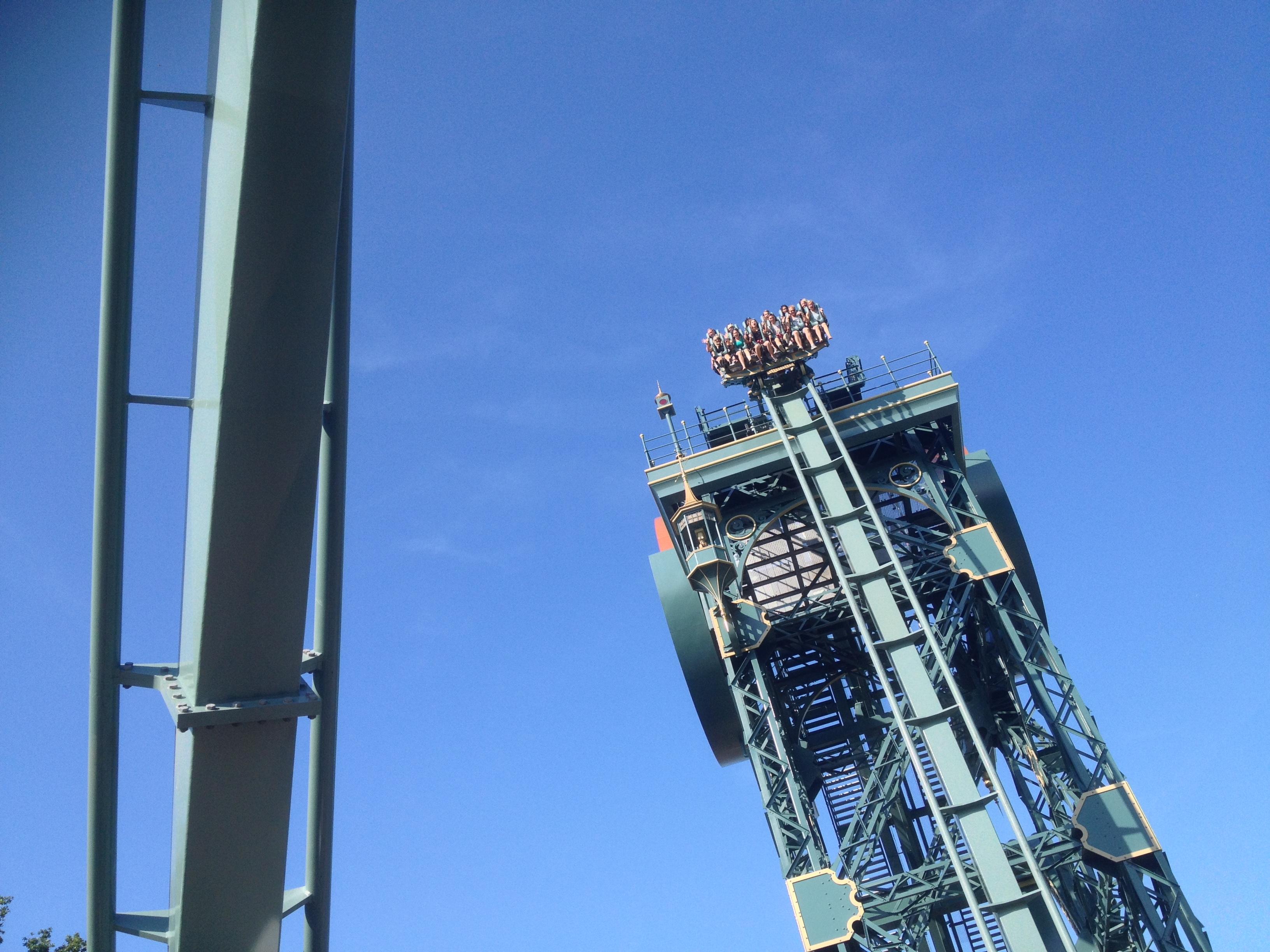 Efteling attractie achtbaan pretpark