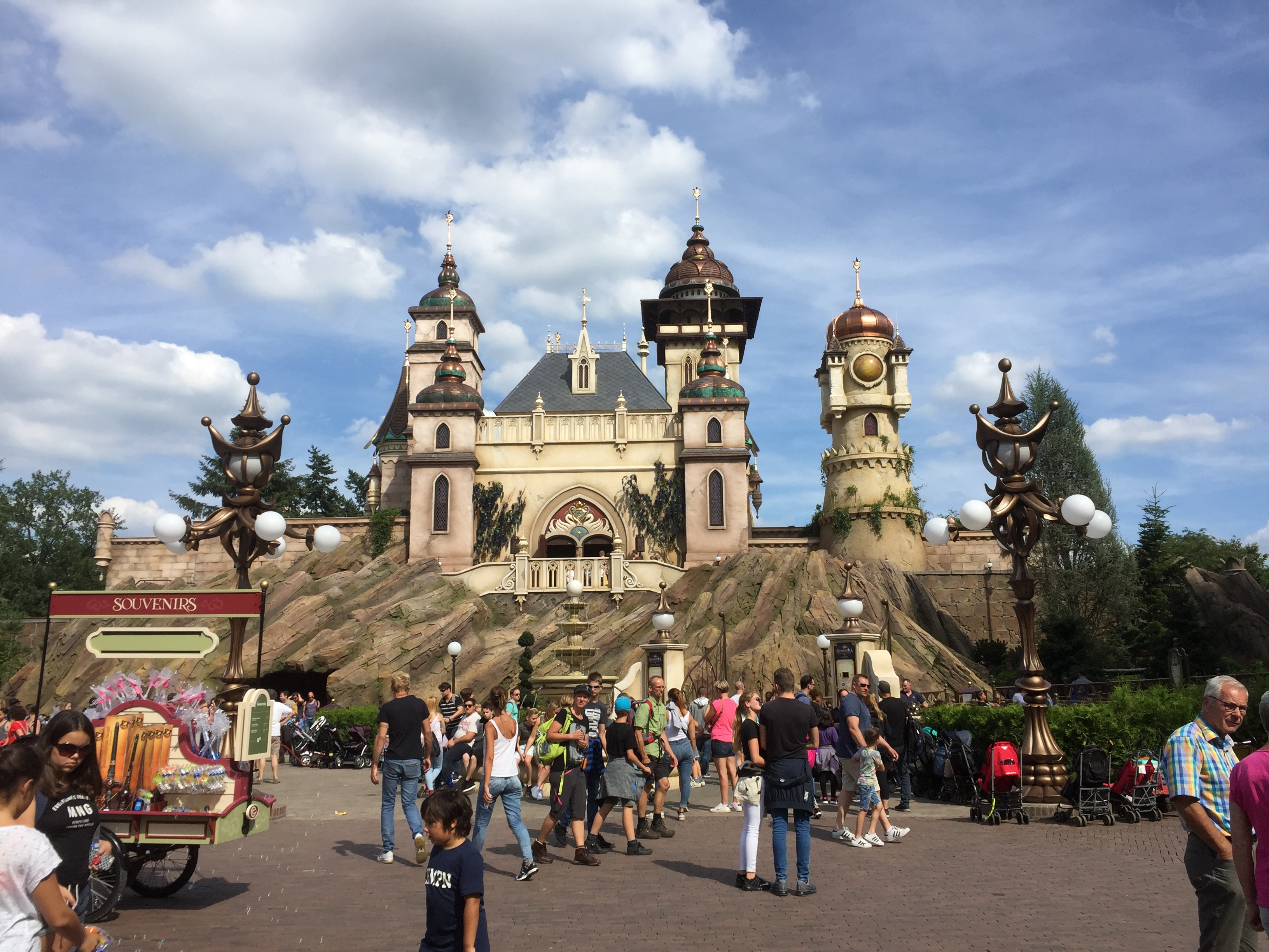Efteling Symbolica attractie achtbaan pretpark