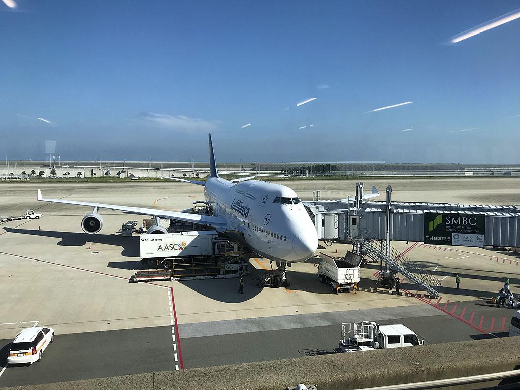 Frankfurt Boeing 747 Lufthansa