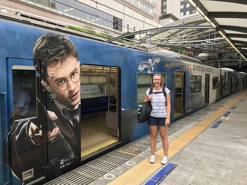 Osaka Universal Studios Japan trein