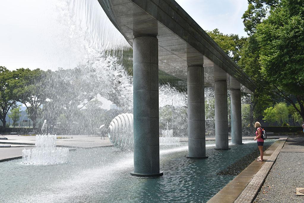 Tokio Tokyo Japan fountain fontein Wadakura